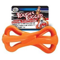Four Paws Rough and Rugged Spiral Rubber Bone