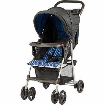 Dream On Me Jupiter Stroller, Black/Blue, Small