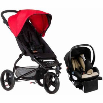 Mountain Buggy 2015 Mini Compact Travel System, Berry