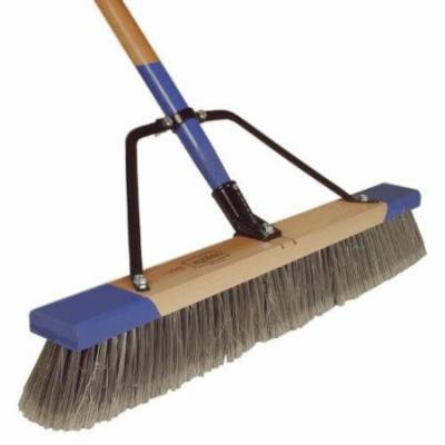 Cequent Consumer Products 553024A Push Broom, Fine Debris, 24-In.
