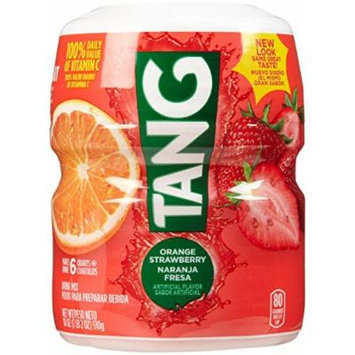 Tang Powdered Drink Mix - Orange Strawberry - 18 Ounces