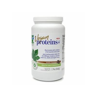 Genuine Health Vegan Proteins+, Double Chocolate 29 oz (840 g)