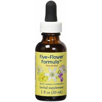 Flower Essence Services Five Flower Formula in Glycerin, 1 Ounce