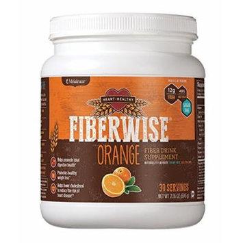 Melaleuca FiberWise Heart Healthy-Fiber Supplement-30 Servings-Net WT. 21.16 OZ.(600g) - Orange