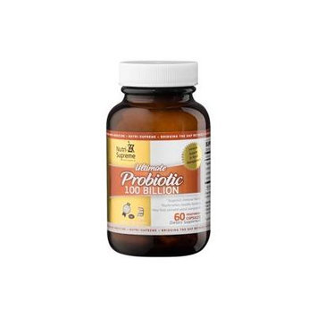 Nutri-Supreme Research Ultimate Probiotic Immune Support & Yeast Management 100 Billion - 60 Vegeta