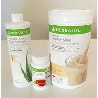 Herbalife Aloe Tea Shake Kit - Herbal Aloe Mango, Herbal Tea Concentrate, Formula 1 Vanilla shake
