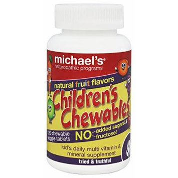 Michael's Naturopathic Programs - Children's Chewables Daily Multi Vitamin Natural Fruit Flavor - 120 Chewable Tablets