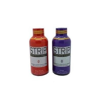 5 Pack - Strip Concentrate Complete Body Cleanser 4 Fl Oz Fruit Grape with Free Im Baked Bro and Doob Tubes Sticker