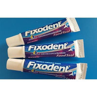 Fixodent to Go 3 Pack Food Seal .35oz Original Formula