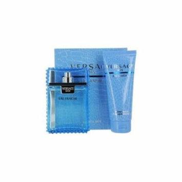 Gianni Versace - Versace Man Eau Fraiche - Eau De Toilette Spray 3.3 oz & Shower Gel 3.4 oz (Travel Offer) - mens - EDT
