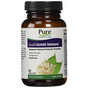 Pure Essence Labs HealthGuard Immune - Supports Natural Immune Function - 60 VegiCaps