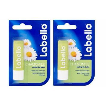 Labello Chamomile Lip Balm 4,8 g (Dualpack)