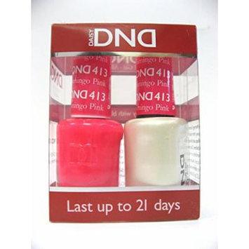 DND *Duo Gel* (Gel & Matching Polish) Spring Set 413 Flamingo Pink