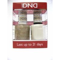 DND *Duo Gel* (Gel & Matching Polish) Spring Set 423 - Glitter for You