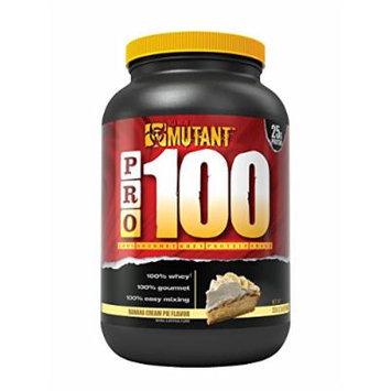 Mutant PRO 100 Whey, Delicious High Quality Gourmet Protein Powder, Banana Cream Pie, 2 Pound
