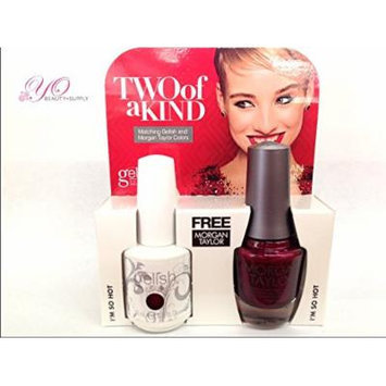 Gelish Two of a Kind Ruby I'm so Hot. Receive Free Harmony Nourish Cuticle Oil .5 Oz