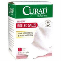 Curad Pro-Sorb Rolled Gauze Sterile Roll 2 in x 2.5 yds (50mm x 2.2 m)