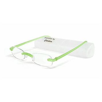 Calabria Reading Glasses - 715 Flexie in Celery +5.00