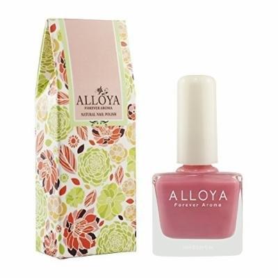 Alloya Natural Non Toxic Nail Polish, Peel Off & Scented, 006 Pink lady cocktail