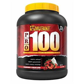 Mutant PRO 100 Whey, Delicious High Quality Gourmet Protein Powder, Strawberries & Cream, 4 Pound