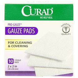 Curad Bandages and Dressings Pro-Gauze Pads - Pad, Pro Gauze, 2