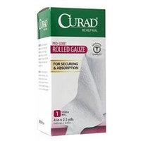 Curad Pro-Sorb Rolled Gauze Sterile Roll 4 in x 2.5 yds (101mm x 2.2mm)