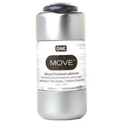 ONE Condoms Move Personal Lubricant, 3.38 oz