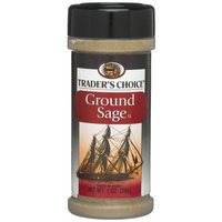 Traders Choice Ground Sage, 1-Ounce Plastic Jars (Pack of 12)
