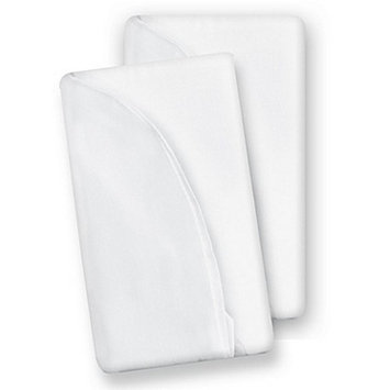 Baby Delight Snuggle Nest Surround XL Sheet (White) - 2-pack