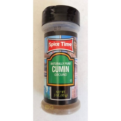 Naturally Pure CUMIN Ground Seasoning by Spice Time Spices & Herbs 3 oz... mtc