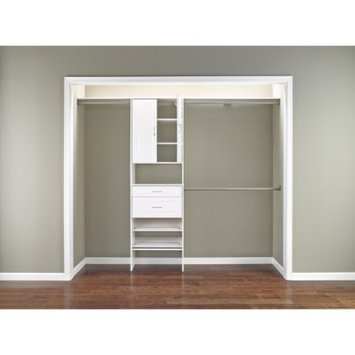 ClosetMaid SuiteSymphony Laminate Closet Organizer - White