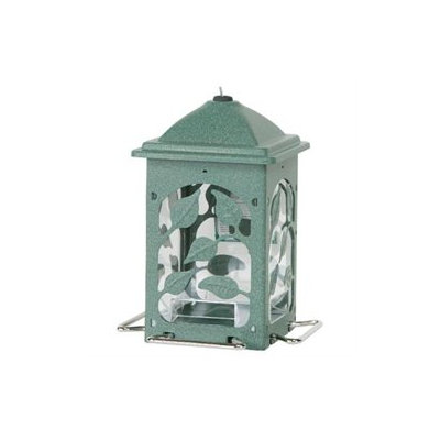 Homestead Meadow Vine Bird Feeder Green Metal