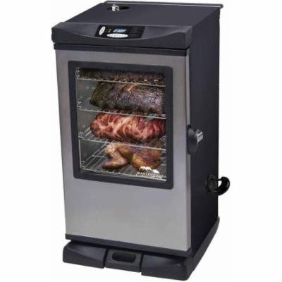 Masterbuilt Front Controller Electric Smoker with Viewing Window and Remote, 30