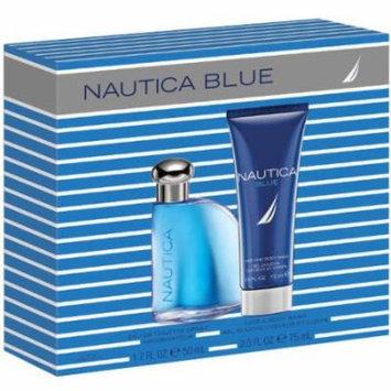 NAUTICA BLUE MEN 2 PIECE GIFT SET - 1.7 OZ EAU DE TOILETTE SPRAY by NAUTICA
