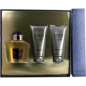 Jaipur Set-Eau De Parfum Spray 3.4 Oz & Aftershave Balm 3.4 Oz & All O