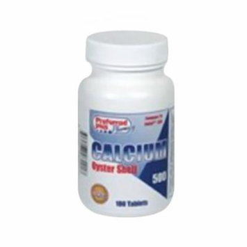 Oyster Calcium 500 Mg Tablets - 100 Ea