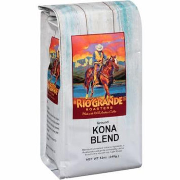 Rio Grande Roasters Kona Blend Ground Coffee, 12 oz