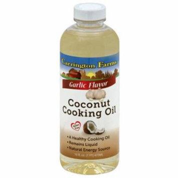 Carrington Farms Garlic Flavor Coconut Cooking Oil, 16 fl oz, (Pack of 6)