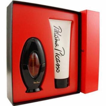 Paloma Picasso Set-Eau De Parfum Spray 1.7 Oz & Body Lotion 6.7 Oz For Women By Paloma Picasso