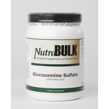 Glucosamine Sulfate - All Natural NutraBulk Powder - Supports Healthy Mobility + Flexibility +Joint Health - 100% Pharmaceutical Grade - 1 Kilogram