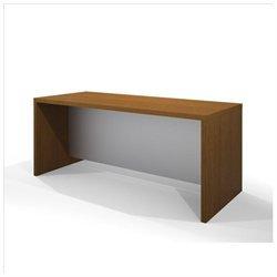 Bestar Pro-Linea Executive Desk, Cognac Cherry
