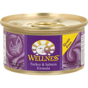 Old Mother Hubbard Wellness Can Cat Turkey & Salmon 3 oz Case 24