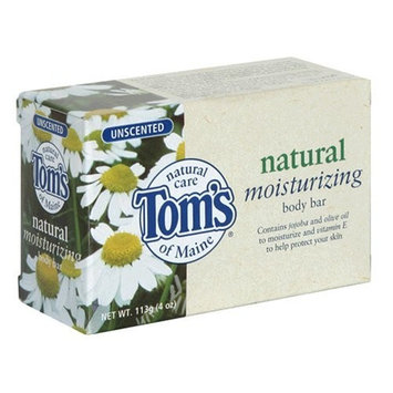Tom's OF MAINE Natural Moisturizing Body Bar Unscented