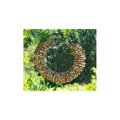 Songbird Essentials SE6019 Whole Peanut Wreath Black