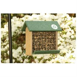 Songbird Essentials Woodpecker Fdr. Hunter Driftwood (Holds 3# Suet Cakes/Blocks)