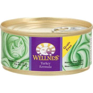 Wellpet Llc Wellness Can Cat Food Case 5.5oz Turkey