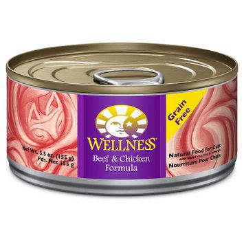 Wellpet Llc Wellness Beef & Chicken Formula Canned Cat Food