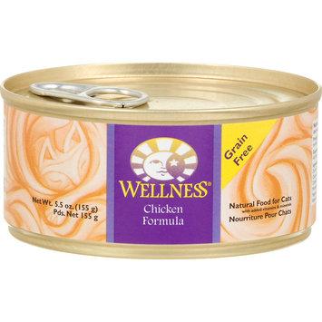 Wellpet Llc Wellness Chicken Formula Canned Cat Food (24/5.5-oz cans)
