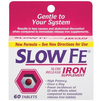 Slow Fe Slow Release Iron Tablets, 60 Count