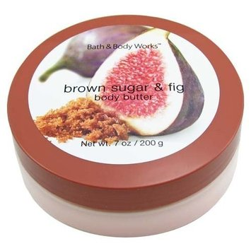 Bath & Body Works Brown Sugar & Fig Pleasures Collection Body Butter 7 oz